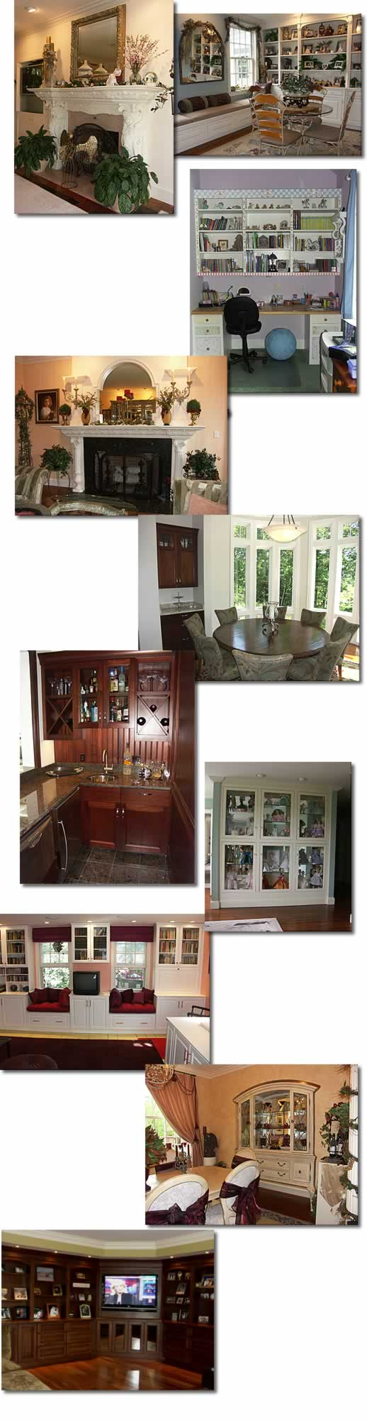 Other rooms and cabinetry